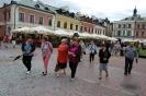 Wycieczka do Zamościa,  Klubowicze spacerują po Rynku Wielkim