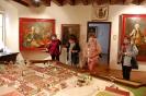 Wycieczka, Kamienica Ormiańska Muzeum Zamojskiego, Klubowicze oglądają makietę